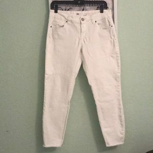 RSQ jeans White ankle jeans size 9